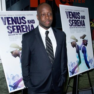 Wyclef Jean in Screening of Venus and Serena
