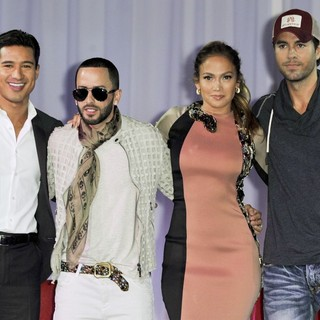 Mario Lopez, Wisin & Yandel, Jennifer Lopez, Enrique Iglesias in Wisin and Yandel, Jennifer Lopez and Enrique Iglesisas Announce Their Summer Tour