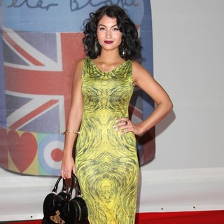 Yasmin in The BRIT Awards 2012 - Arrivals - yasmin-brit-awards-2012-02
