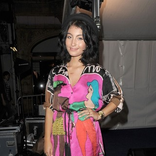 Yasmin in Fashion's Night Out 2011 - Mulberry - Bond Street