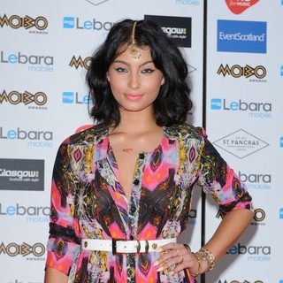 Yasmin in The MOBO Awards 2011 Nominations Launch - Arrivals