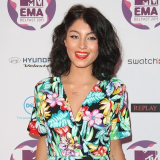 Yasmin in The MTV Europe Music Awards 2011 (EMAs) - Arrivals - yasmin-mtv-europe-music-awards-2011-02