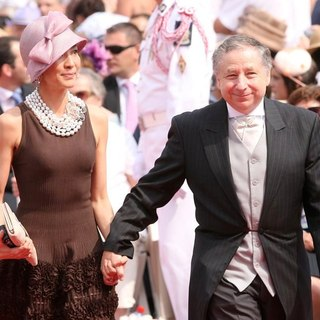 Michelle Yeoh in Religious Ceremony of The Royal Wedding of Prince Albert II of Monaco to Charlene Wittstock - yeoh-todt-religious-ceremony-royal-wedding-01