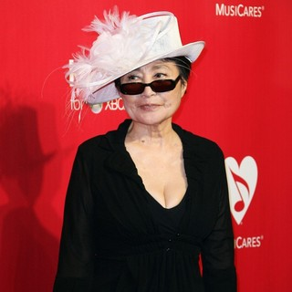 Yoko Ono in 2012 MusiCares Person of The Year Gala
