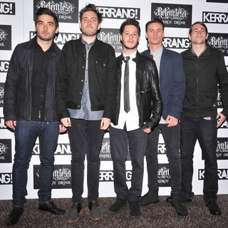 You Me At Six in Kerrang! Awards 2012 - Arrivals