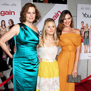 "Sigourney Weaver, Kristen Bell, Odette Yustman in Los Angeles Premiere of ""You Again"""