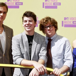 Mark L. Young, Bubba Lewis, Zack Pearlman, Alex Frnka in 2012 MTV Video Music Awards - Arrivals