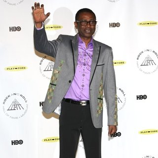 Youssou N'Dour in 29th Annual Rock and Roll Hall of Fame Induction Ceremony