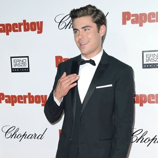 Zac Efron in The Paperboy Afterparty Premiere - During The 65th Cannes Film Festival