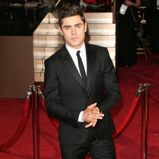 Zac Efron in The 86th Annual Oscars - Red Carpet Arrivals