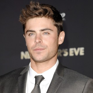 Zac Efron in Los Angeles Premiere of New Year's Eve
