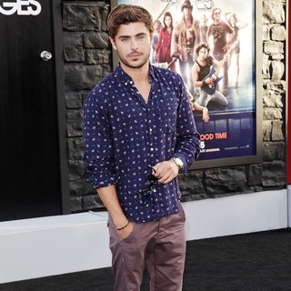 Zac Efron in Premiere of Warner Bros. Pictures Rock of Ages - Arrivals