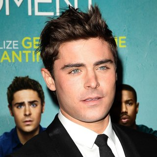 Zac Efron in Premiere of That Awkward Moment