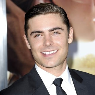 Zac Efron in The Premiere of The Lucky One
