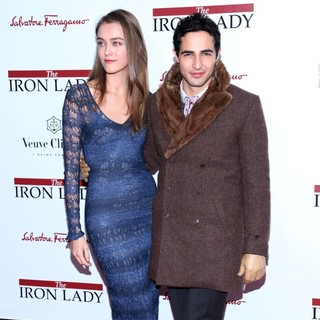 Zac Posen in The New York Premiere of The Iron Lady
