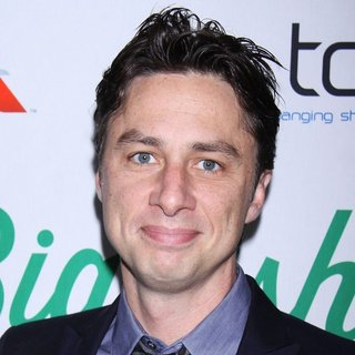 Zach Braff - Opening Night of The Broadway Musical Big Fish - Arrivals