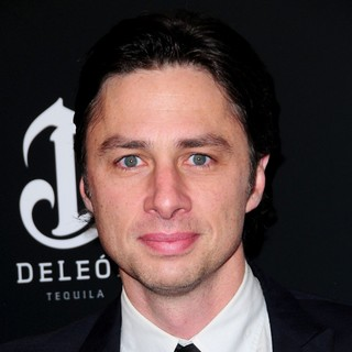 Zach Braff in The Premiere of Django Unchained