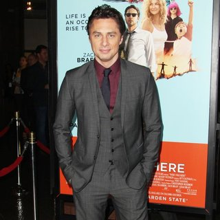 Zach Braff - Premiere of Focus Features' Wish I Was Here