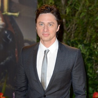 Zach Braff in U.K. Premiere of Oz: The Great and Powerful - Arrivals