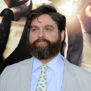 Zach Galifianakis in Los Angeles Premiere of The Hangover Part III