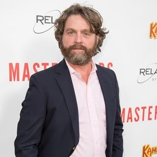 Zach Galifianakis-Relativity Media's Masterminds Premiere