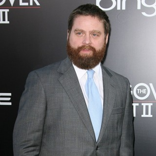 Zach Galifianakis in Los Angeles Premiere of The Hangover Part II