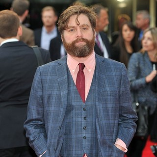 Zach Galifianakis in The Hangover Part III - European Film Premiere