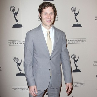 Zach Gilford in 63rd Primetime Emmy Writers Nominee Reception
