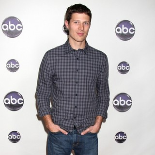 Zach Gilford in The Disney ABC Television Group's TCA Winter 2011 Press Tour Party