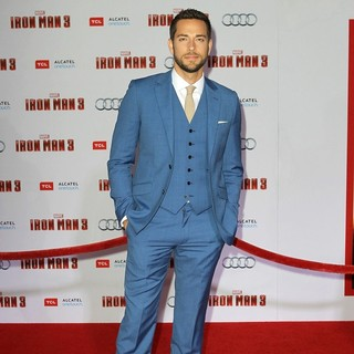 Zachary Levi in Iron Man 3 Los Angeles Premiere - Arrivals - zachary-levi-premiere-iron-man-3-03