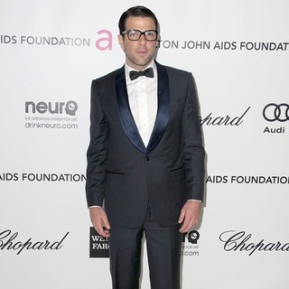 Zachary Quinto in The 20th Annual Elton John AIDS Foundation's Oscar Viewing Party - Arrivals