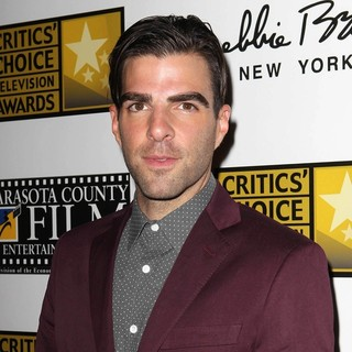 Zachary Quinto in Broadcast Television Journalists Association's 3rd Annual Critics' Choice Television Awards