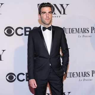Zachary Quinto in The 67th Annual Tony Awards - Arrivals