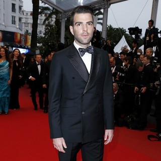 Zachary Quinto in 66th Cannes Film Festival - All Is Lost Premiere