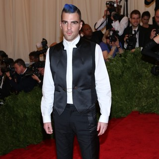 Zachary Quinto in PUNK: Chaos to Couture Costume Institute Gala - zachary-quinto-chaos-to-couture-costume-institute-gala-02