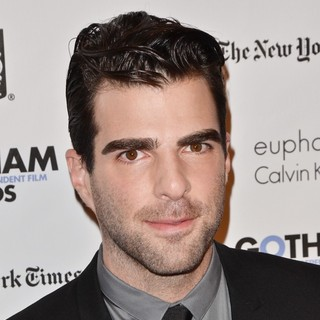 Zachary Quinto in Gotham Awards 2011 - Arrivals