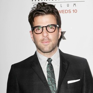 Zachary Quinto in Premiere Screening of FX's American Horror Story: Asylum