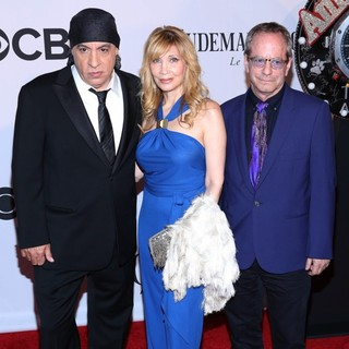 Steven Van Zandt, Maureen Van Zandt in The 67th Annual Tony Awards - Arrivals
