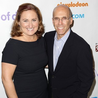 Cyma Zarghami, Jeffrey Katzenberg in March of Dimes Celebration of Babies Luncheon - Arrivals