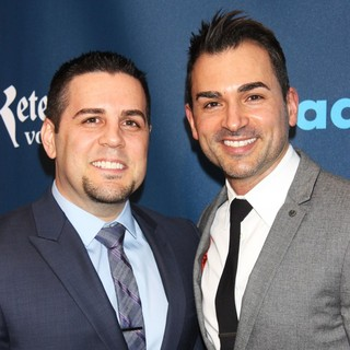 Jeff Zarrillo, Paul Katami in 24th Annual GLAAD Media Awards - Arrivals