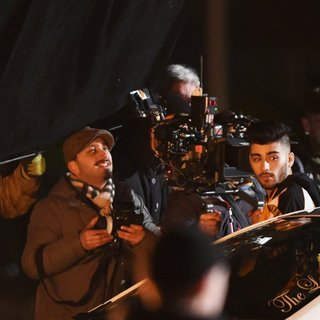 Zayn Malik - Zayn Malik Filming His New Music Video