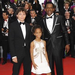 Benh Zeitlin, Quvenzhane Wallis, Dwight Henry in Madagascar 3: Europe's Most Wanted Premiere- During The 65th Cannes Film Festival
