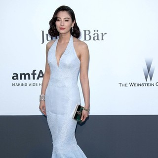 Zhang Yuqi in 66th Cannes Film Festival - amfAR's 20th Annual Cinema Against AIDS - Arrivals