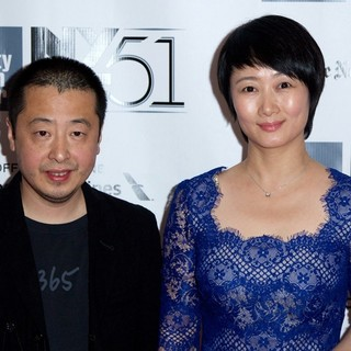 Jia Zhangke, Zhao Tao in The 51st New York Film Festival - Inside Llewyn Davis Premiere - Arrivals