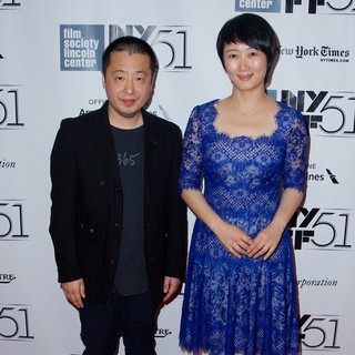 The 51st New York Film Festival - Inside Llewyn Davis Premiere - Arrivals - zhangke-tao-51st-new-york-film-festival-02