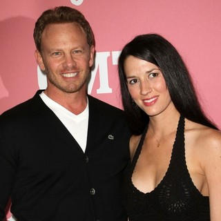 Ian Ziering, Erin Kristine Ludwig in Jennie Garth's 40th Birthday Celebration and Premiere Party for Jennie Garth: A Little Bit Country