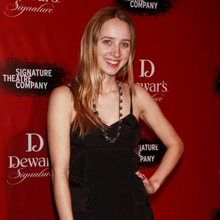 Zoe Kazan in Signature Theatre Company's 20th Anniversary Gala - Celebrating Playwright-in-Residence - Arrivals