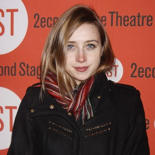Zoe Kazan in Opening Night of The Second Stage Theatre Production of Gruesome Playground Injuries - Arrivals