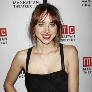 Zoe Kazan in After Party for The World Premiere of The Manhattan Theatre Club Production of We Live Here