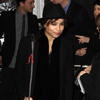 Zoe Kravitz in New York Premiere of Bullet to the Head